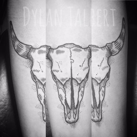 Tattoos - Longhorn skull - 128939