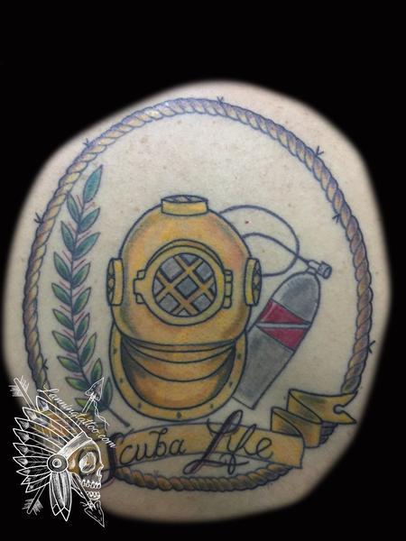 Tattoos - Scuba life  - 127383