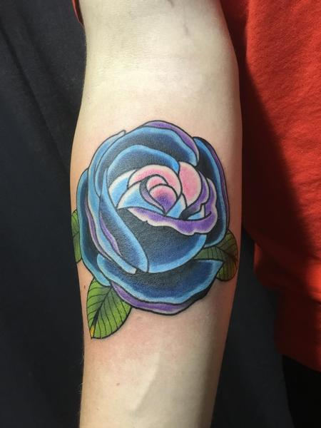 Tattoos - Blue Rose - 128835