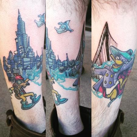 Tattoos - dark wing - 133853