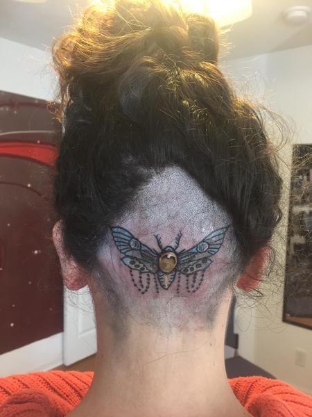 Tattoos - Moth - 123427