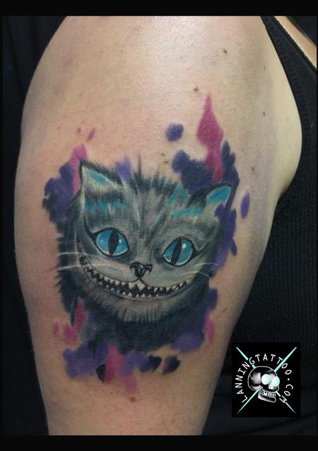 Cheshire cat Design Thumbnail