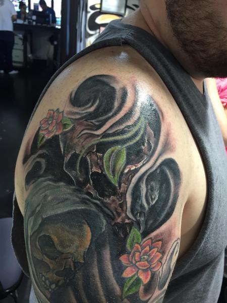 Tattoos - Skull - 114678