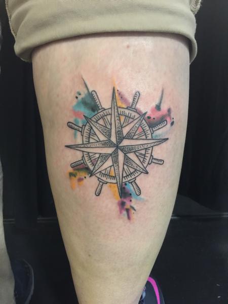 Tattoos - Compass - 116789