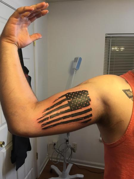 Tattoos - Flag - 120376