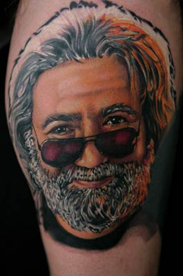 jerry garcia by mike demasi tattoonow