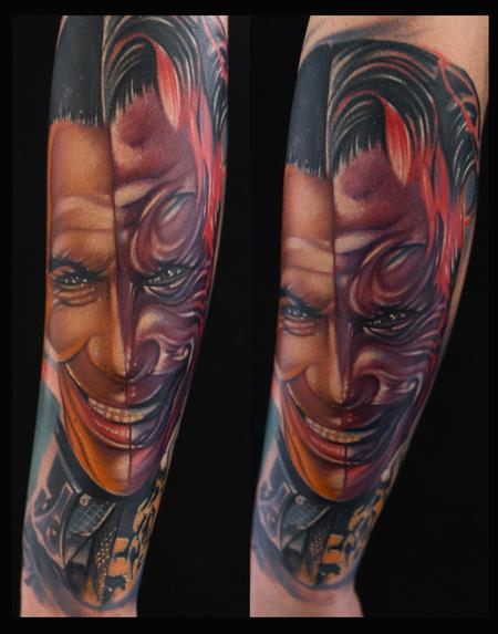 Mike Demasi - Tommy Lee Jones Batman Color Portrait