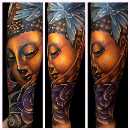 Likeness of Buddha  Tattoo Design