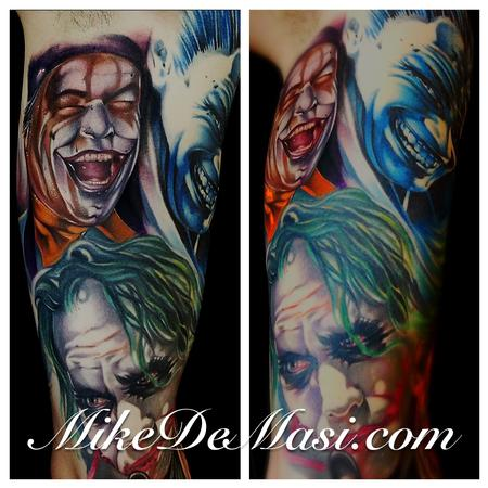 Tattoos - The Joker color tattoos - 77844
