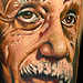 Tattoos - portrait of Albert Einstein - 31042