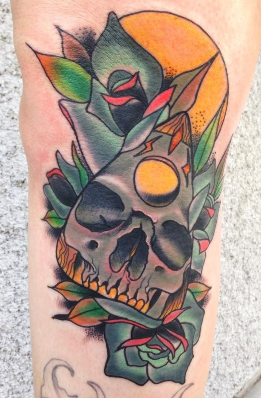 Art Junkies Tattoo Studio : Tattoos : Gary Dunn : Neo ...