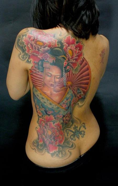 Tim Mcevoy - colorful traditional japanese tattoo