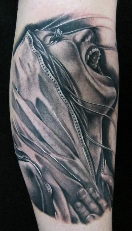Brent Olson - Virgin Mary Brent Olson Art Junkies Tattoo