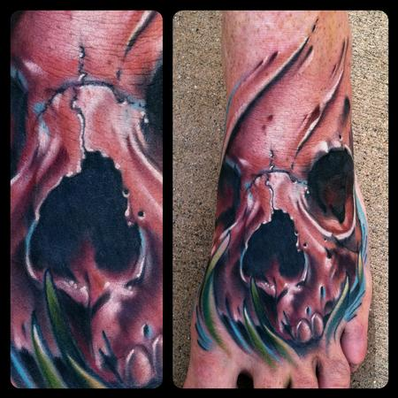 Brent Olson - Skull foot
