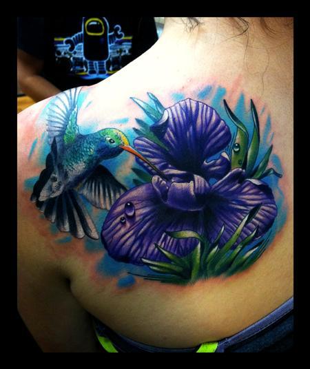 Realistic Flower Tattoos