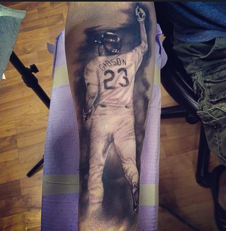 Ryan Mullins - Black and gray photo realism tattoo