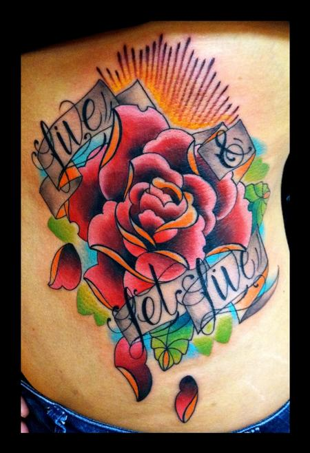 Custom art gallery tattoo elkhart 2014