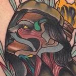 Tattoos - Traditional color hand with girls face tattoo, Gary Dunn Art Junkies Tattoo - 101600