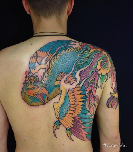 Tattoos - coverup in progress - 120039