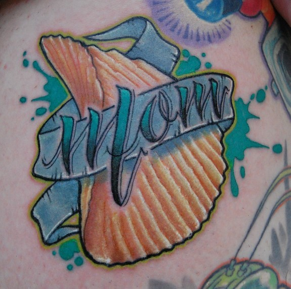 Richard Andrews - Mom Tattoo... with Ruffles