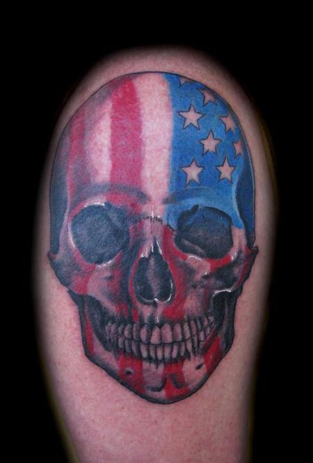 Danny Warner - Skull Tattoo