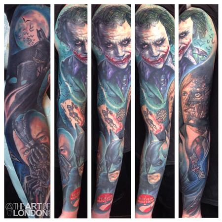 London Reese - Batman Dark Knight Sleeve