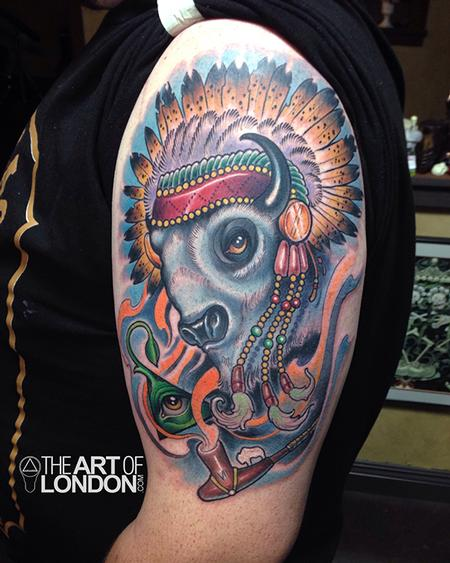 Buffallo tattoo