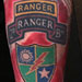 Tattoos - Army Ranger Memorial Tattoo - 74224