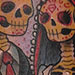 Tattoos - Day of the Dead Couple Tattoo - 74228