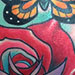 Tattoos - Roses and Butterflies - 74235