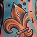 Tattoos - New Orleans Bronze Equestrian Pole Horse Tattoo - 74234