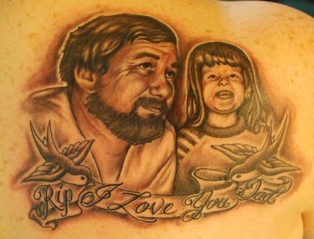 George Muecke - Portrait Tattoo