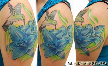 George Muecke - Humming Bird Tattoo