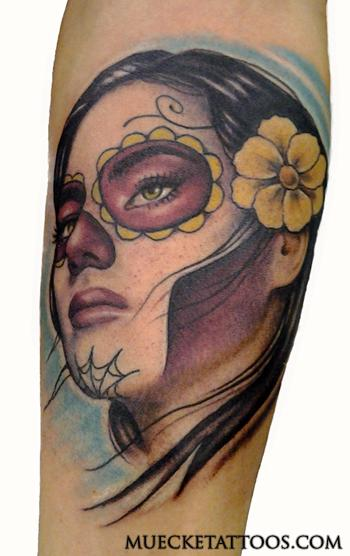 George Muecke - Day of the Dead Tattoo