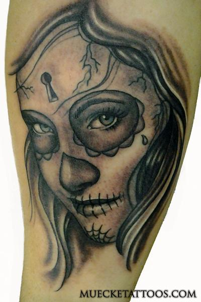 George Muecke - Dead Girl Custom Portrait