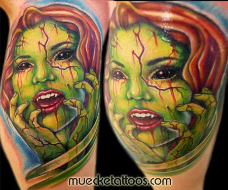 Tattoos - Muecke Horror Tattoo - 75464