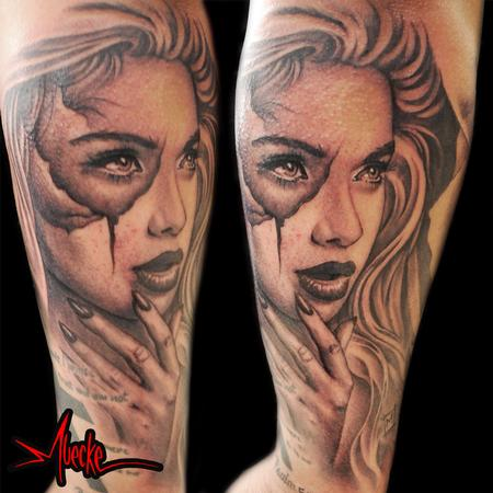 Portrait tattoo Design Thumbnail