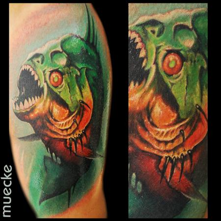 George Muecke - Piranha Tattoo