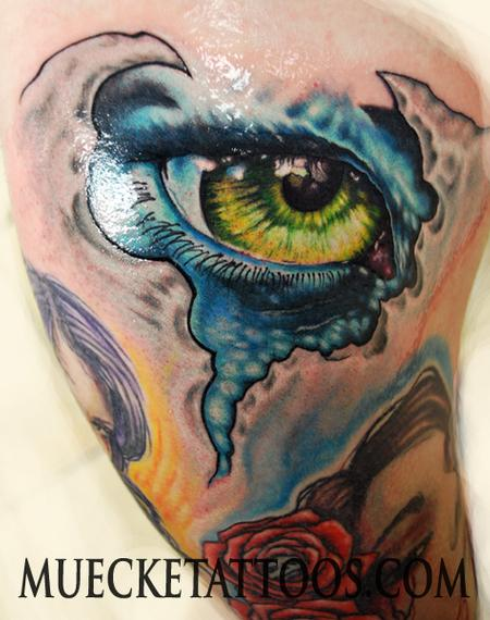 George Muecke - Muecke Eyeball Tattoo