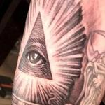Tattoos - Illuminati all seeing eye tattoo - 128185