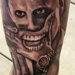 Tattoos - joker tattoo portrait new joker batman movie suicide squad - 128189