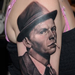Georgia's Frank Sinatra portrait Tattoo Thumbnail