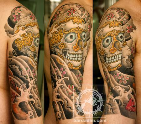 Tibetan Skull Tattoo Tibetan Skull Tattoo