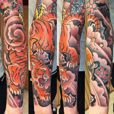 Tattoos - Japanese tiger - 117362