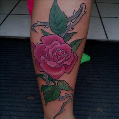 Rose Tatto on Worlds Best Tattoos   Tattoos   George Bardadim   Rose Tattoo