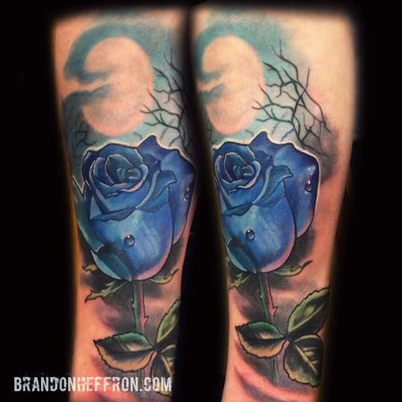 Tattoos - Blue Rose - 111905
