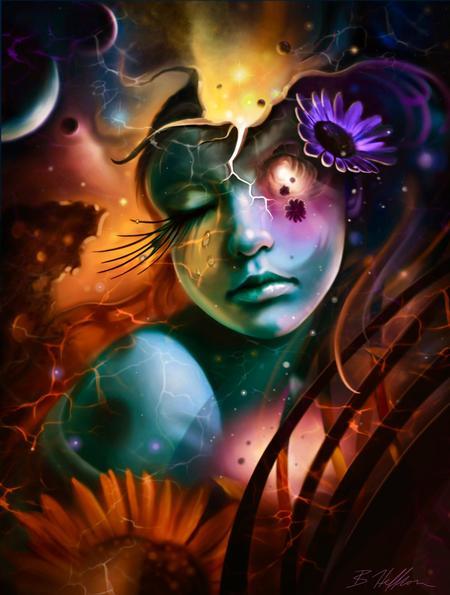 Tattoos - Celestial Sunflower - 133711