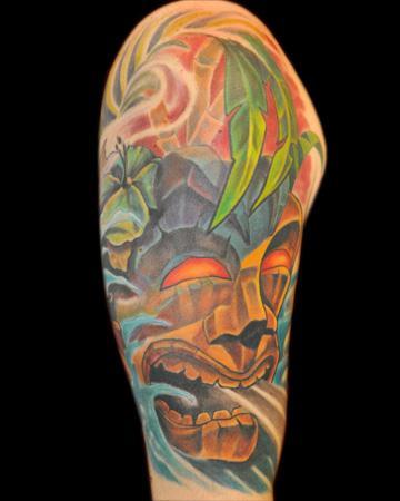 tiki tattoos. Tattoos middot; Page 1. Tiki