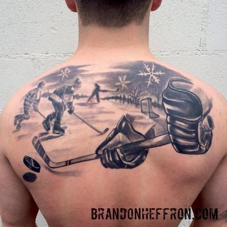 Hockey Tattoo Design Thumbnail