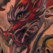 Tattoos - Dragon with Skull on Scale - Leg Sleeve - 76567